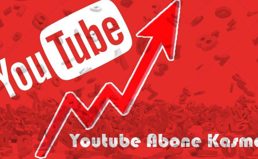 Youtube'da Abone Çoğaltmanın Yolları